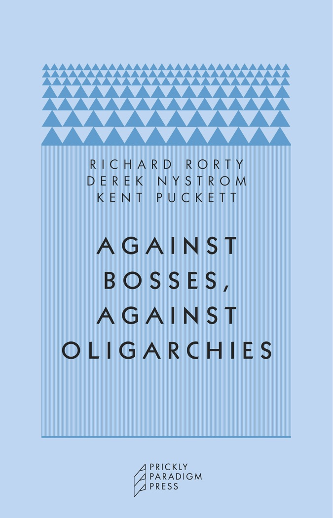 Against Bosses, Against Oligarchies Cover