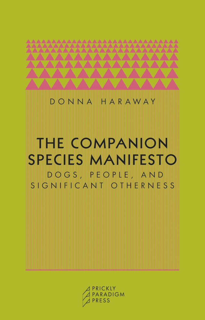 The Companion Species Manifesto Cover