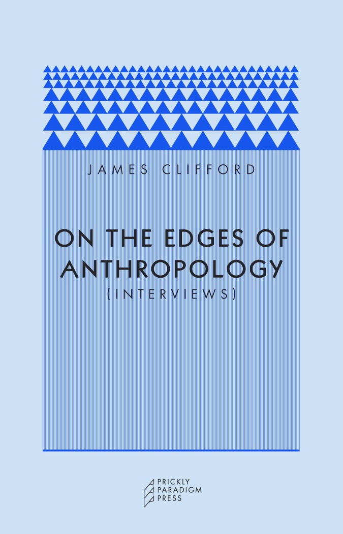 On the Edges of Anthropology Cover