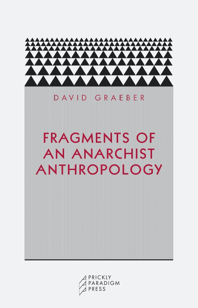 Fragments of an Anarchist Anthropology Cover