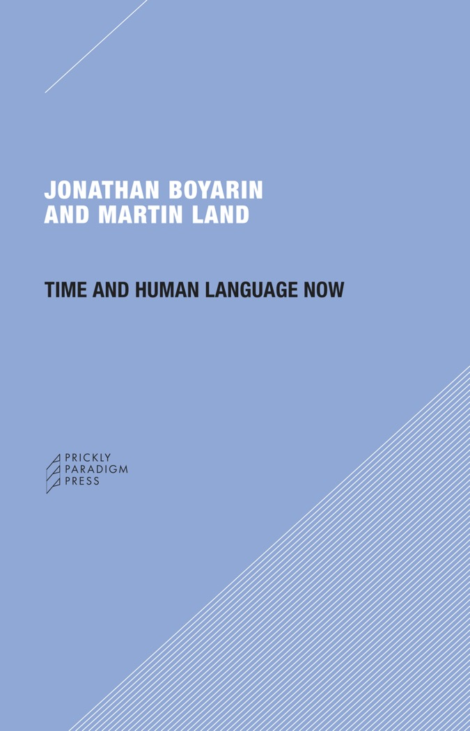 Time and Human Language Now Cover