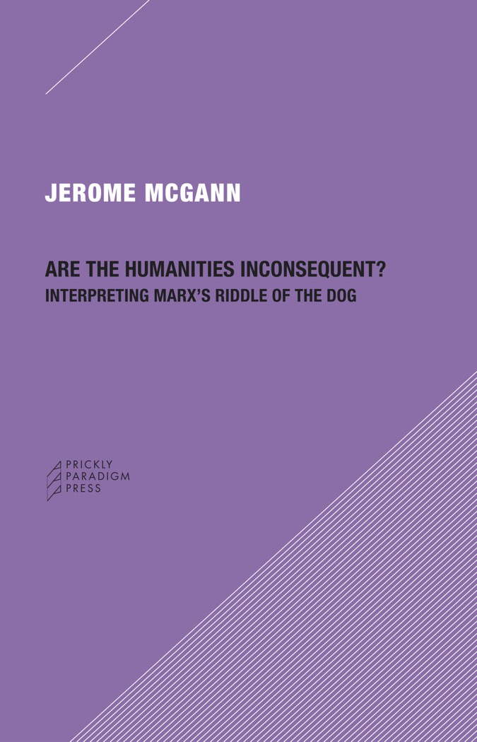 Are the Humanities Inconsequent? Cover