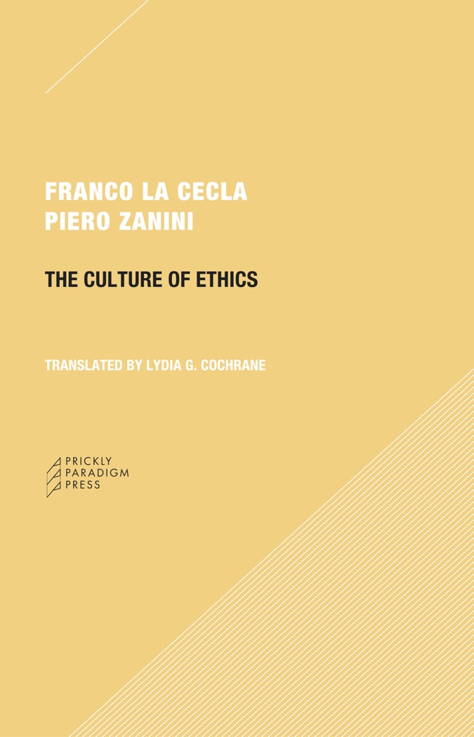 The Culture of Ethics Cover