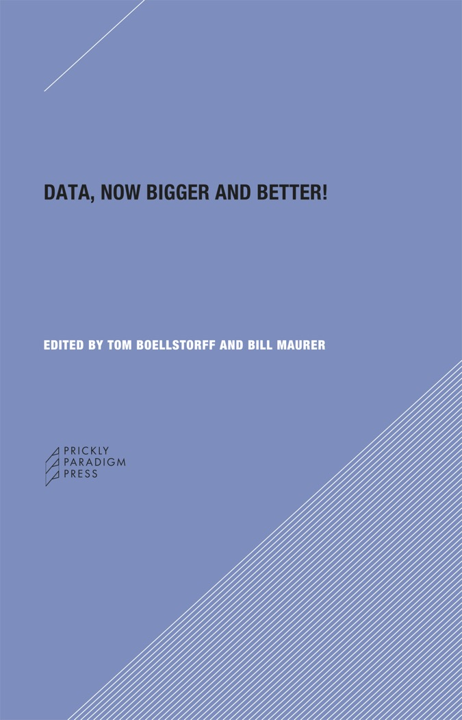 Data, Now Bigger and Better! Cover