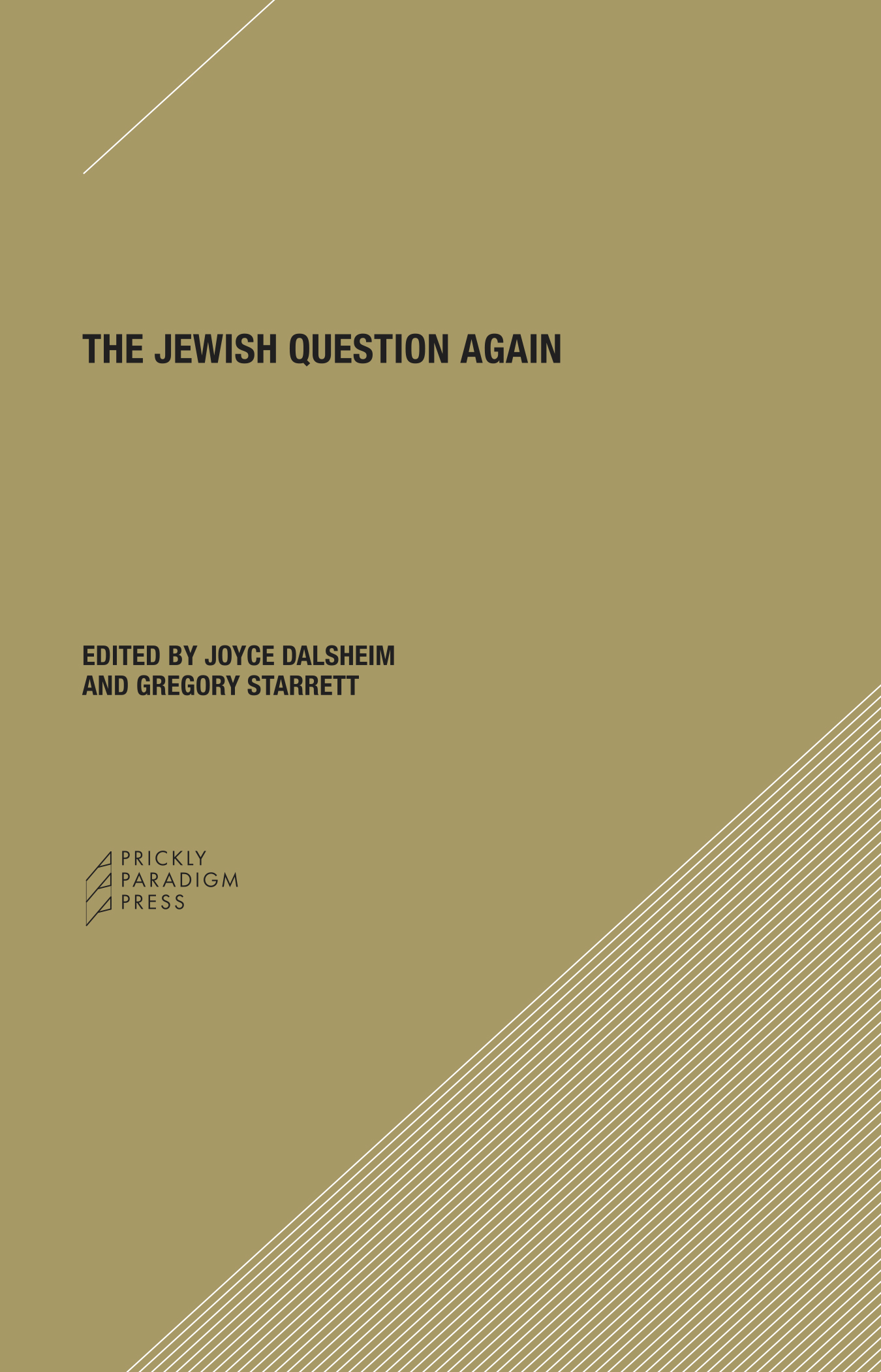 The Jewish Question Again Cover